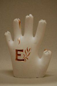 Sádrová ruka
